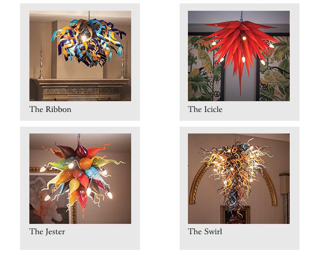 Chandeliers Malta | Malta Glass Chandeliers | Hand Blown Glass chandeliers