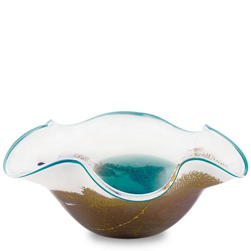 Seascape Medium Star Bowl Malta,Glass Seascape Malta, Glass Seascape, Mdina Glass