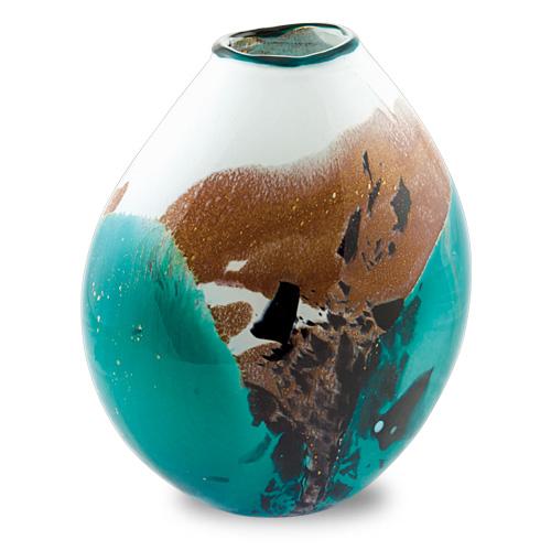 Seascape Medium Dimi Vase Malta,Glass Seascape Malta, Glass Seascape, Mdina Glass