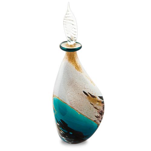 Malta,  Malta,Glass Perfume Bottles Malta,Glass Perfume Bottles, Seascape Miniature Triple Swirl Perfume Malta, Mdina Glass Malta