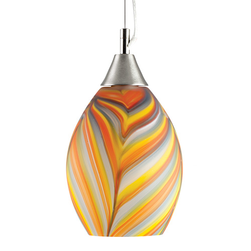 Small Hanging Barrel light - Frosted Malta,Glass Lifestyle Range Malta, Glass Lifestyle Range, Mdina Glass