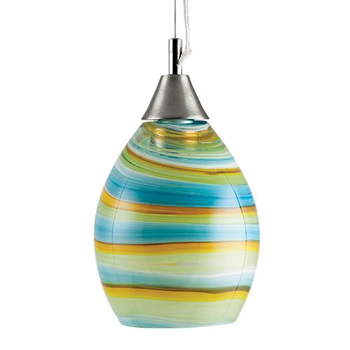 Small Hanging Barrel Light  Malta,Glass Lifestyle Range Malta, Glass Lifestyle Range, Mdina Glass