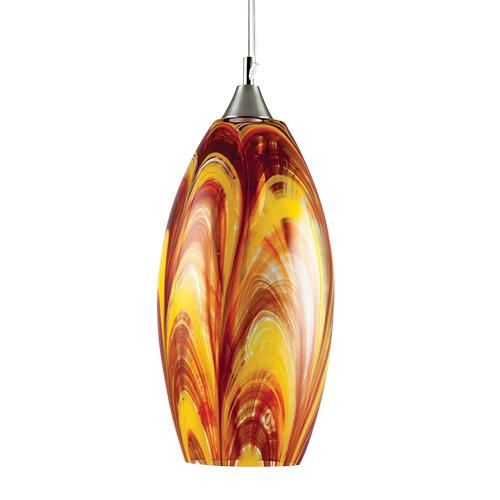 Malta,  Malta,Glass Lighting Malta,Glass Lighting, Medium Hanging Barrel Light  Malta, Mdina Glass Malta