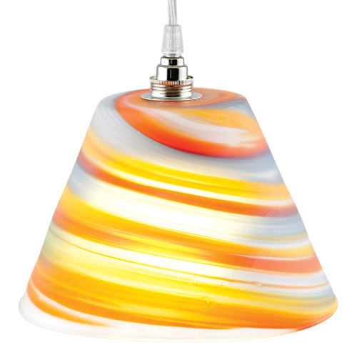 Hanging Pot Light No.2 Frosted Malta,Glass Lighting Malta, Glass Lighting, Mdina Glass
