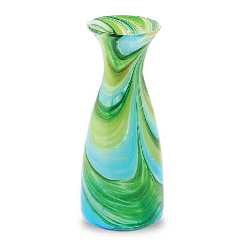 Malta,  Malta,Glass Lifestyle Malta,Glass Lifestyle, Turquoise & Greens Carafe Malta, Mdina Glass Malta