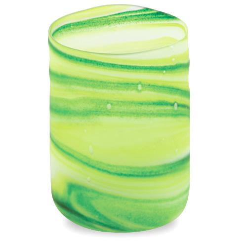 Green Frosted Tumbler (Original) Malta,Glass Lifestyle Range Malta, Glass Lifestyle Range, Mdina Glass