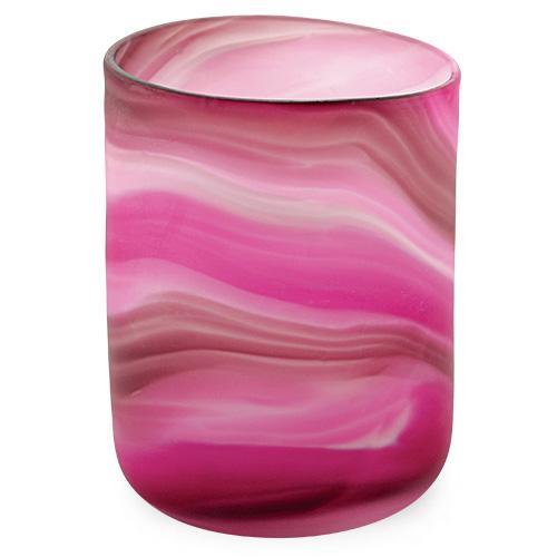 Malta,  Malta,Glass Lifestyle Malta,Glass Lifestyle, Mixed Pink Frosted Tumbler (Original) Malta, Mdina Glass Malta