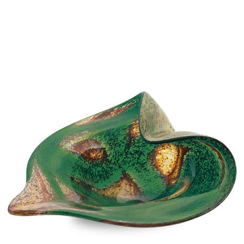 Marble Miniature Leaf Bowl Malta,Glass Marble Malta, Glass Marble, Mdina Glass