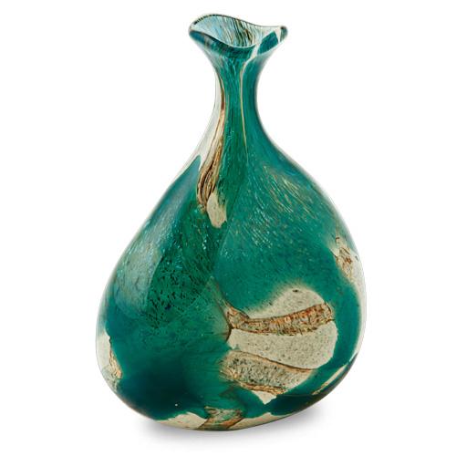 Marble Miniature Tri Vase Malta,Glass Marble Malta, Glass Marble, Mdina Glass