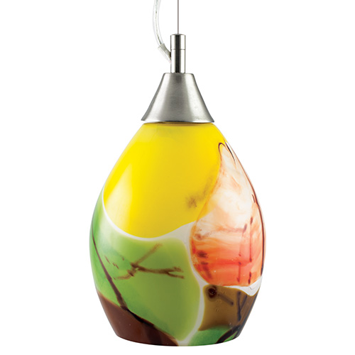 Africa small hanging barrel light