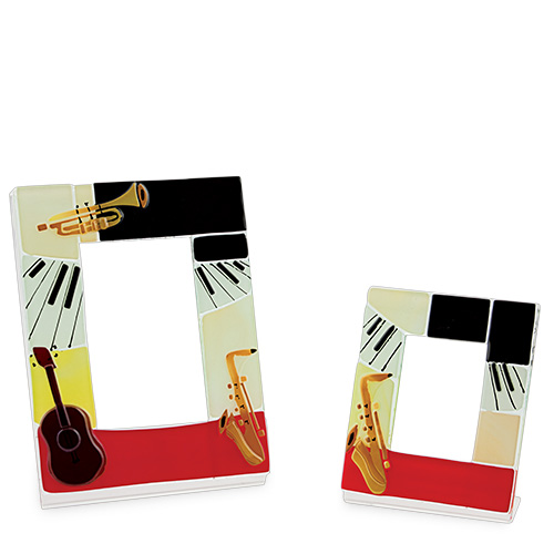 Instruments Frame (14x12cm) Malta,Glass Picture Frames Malta, Glass Picture Frames, Mdina Glass