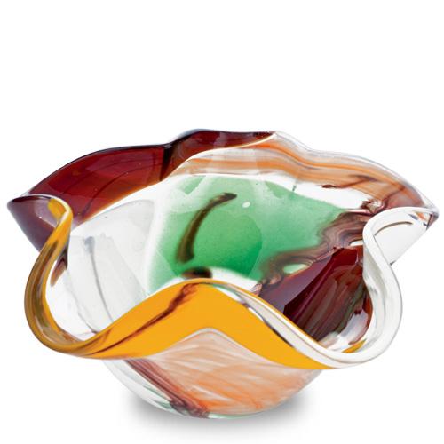 Africa Miniature Star Bowl Malta,Glass Decorative Bowls Malta, Glass Decorative Bowls, Mdina Glass