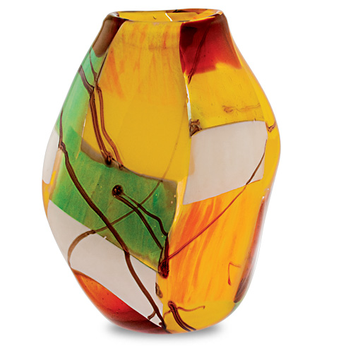 Malta,  Malta, Africa Medium Double Swirl Vase Malta, Vases Malta, Mdina Glass Malta