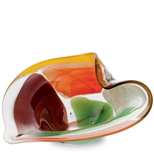 Africa Miniature Leaf Bowl Malta,Glass Decorative Bowls Malta, Glass Decorative Bowls, Mdina Glass