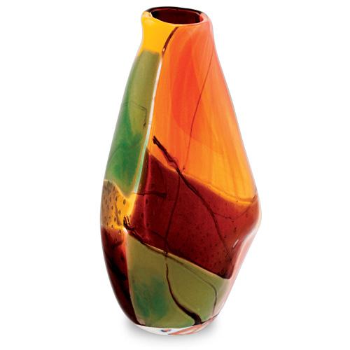Malta,  Malta, Africa Medium Tall Double Swirl Vase Malta, Vases Malta, Mdina Glass Malta