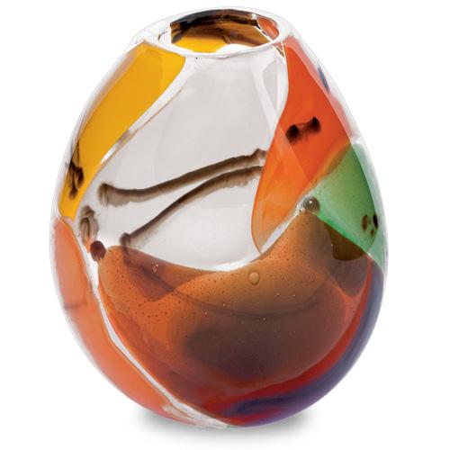 Africa Miniature Dimi Vase Malta,Glass Vases Malta, Glass Vases, Mdina Glass
