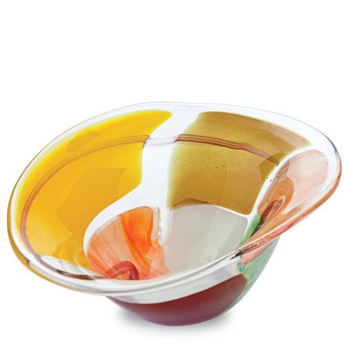Africa Miniature Moon Bowl Malta,Glass Decorative Bowls Malta, Glass Decorative Bowls, Mdina Glass
