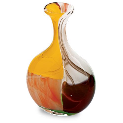 Africa Miniature Lollipop Bottle Vase Malta,Glass Africa Malta, Glass Africa, Mdina Glass