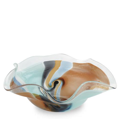 Agape Large Star Bowl Malta,Glass Agape Malta, Glass Agape, Mdina Glass