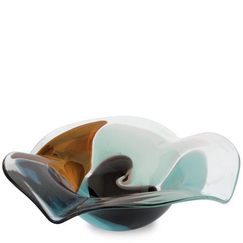 Agape Miniature Flat Side Ashtray Malta,Glass Ashtrays Malta, Glass Ashtrays, Mdina Glass