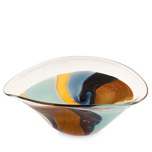 Agape Large Moon Bowl Malta,Glass Agape Malta, Glass Agape, Mdina Glass