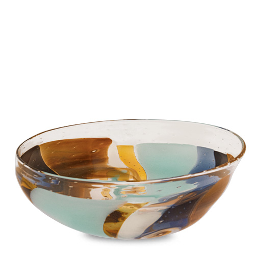 Agape Medium Orbit Bowl Malta,Glass Agape Malta, Glass Agape, Mdina Glass