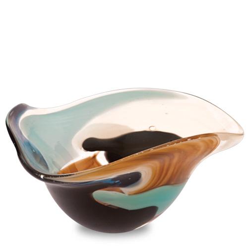 Agape Miniature Tri Bowl Malta,Glass Decorative Bowls Malta, Glass Decorative Bowls, Mdina Glass