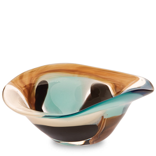 Agape Miniature Moon Bowl Malta,Glass Decorative Bowls Malta, Glass Decorative Bowls, Mdina Glass
