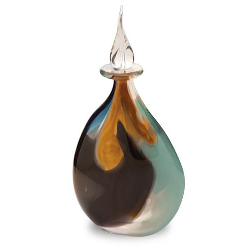 Agape Miniature Double Swirl Perfume Malta,Glass Perfume Bottles Malta, Glass Perfume Bottles, Mdina Glass
