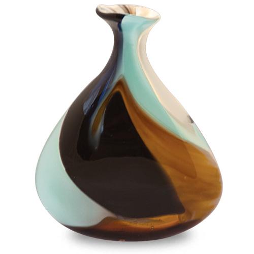 Agape Miniature Tri Vase Malta,Glass Agape Malta, Glass Agape, Mdina Glass