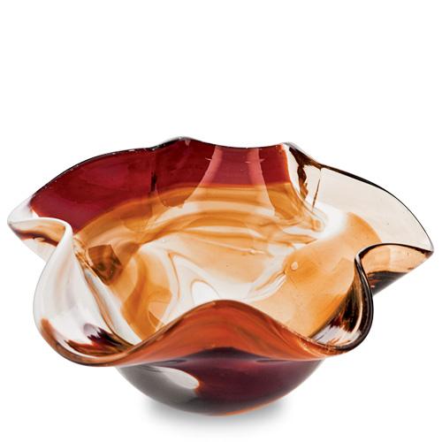 Caspia Miniature Star Bowl Malta,Glass Caspia Malta, Glass Caspia, Mdina Glass