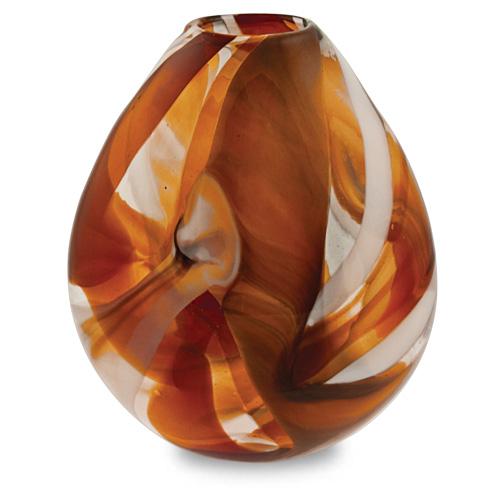 Caspia Medium Dimi Vase Malta,Glass Caspia Malta, Glass Caspia, Mdina Glass
