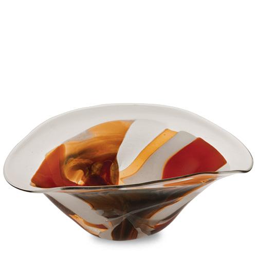 Caspia Medium Moon Bowl Malta,Glass Caspia Malta, Glass Caspia, Mdina Glass