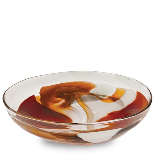 Caspia Medium Orbit Bowl Malta,Glass Caspia Malta, Glass Caspia, Mdina Glass