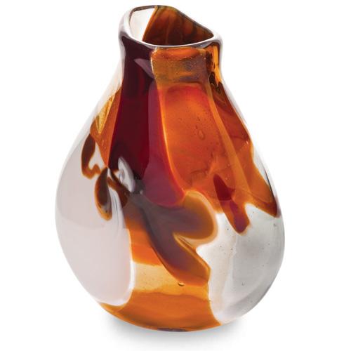 Caspia Miniature Double Swirl Vase Malta,Glass Caspia Malta, Glass Caspia, Mdina Glass