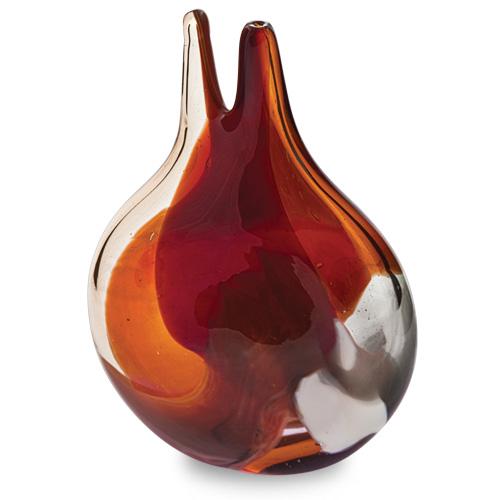 Caspia Miniature Double Neck Vase Malta,Glass Caspia Malta, Glass Caspia, Mdina Glass