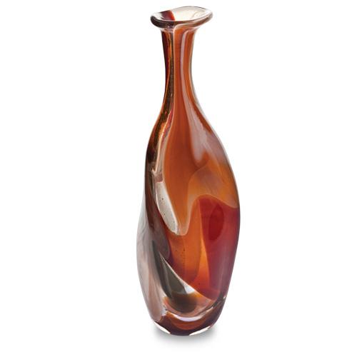 Caspia Miniature Triple Swirl Bottle Vase Malta,Glass Caspia Malta, Glass Caspia, Mdina Glass
