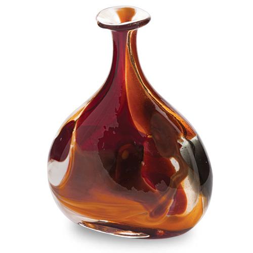Caspia Miniature Tri Vase Malta,Glass Caspia Malta, Glass Caspia, Mdina Glass
