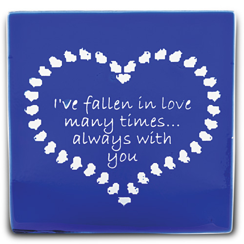 Cobalt Blue Coaster Malta,Glass Romantic Coasters Malta, Glass Romantic Coasters, Mdina Glass