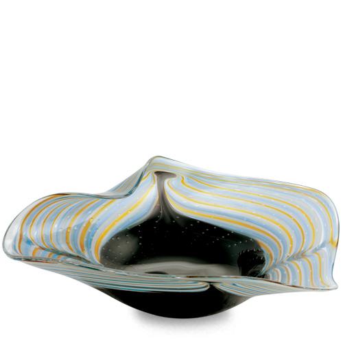 Corvo Medium Leaf Bowl Malta,Glass Corvo Malta, Glass Corvo, Mdina Glass