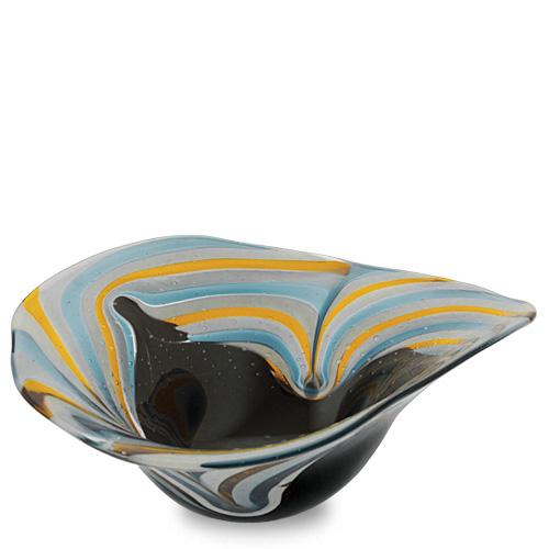 Corvo Large Moon Bowl Malta,Glass Corvo Malta, Glass Corvo, Mdina Glass