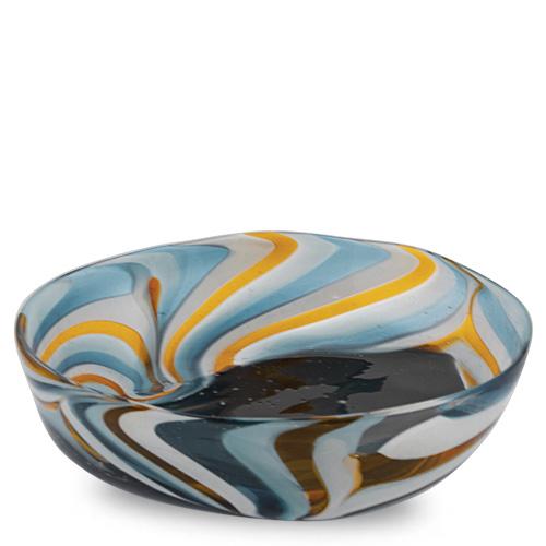Corvo Medium Orbit Bowl Malta,Glass Corvo Malta, Glass Corvo, Mdina Glass