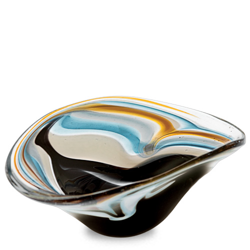 Corvo Miniature Moon Bowl Malta,Glass Corvo Malta, Glass Corvo, Mdina Glass
