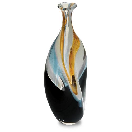 Corvo Miniature Triple Swirl Bottle Vase Malta,Glass Corvo Malta, Glass Corvo, Mdina Glass