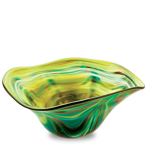 Germeno Large Tri Bowl Malta,Glass Germeno Malta, Glass Germeno, Mdina Glass