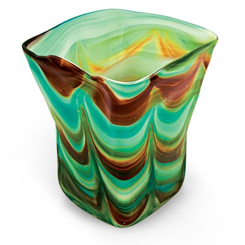 Germeno Medium Pot Vase 2 Malta,Glass Germeno Malta, Glass Germeno, Mdina Glass
