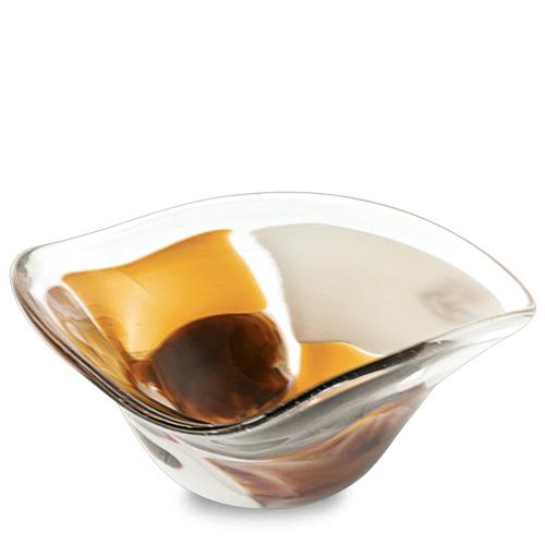 Michelangelo Miniature Tri Bowl Malta,Glass Decorative Bowls Malta, Glass Decorative Bowls, Mdina Glass
