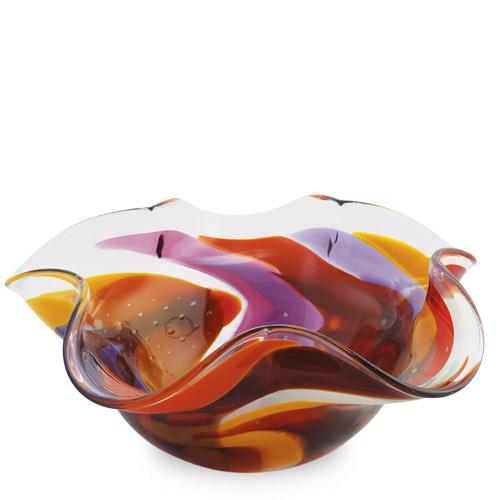Naia Medium Star Bowl Malta,Glass Naia Malta, Glass Naia, Mdina Glass