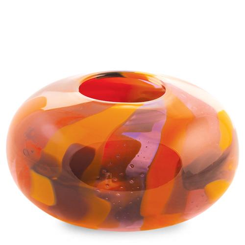 Naia Large Oval Candleholder Malta,Glass Naia Malta, Glass Naia, Mdina Glass