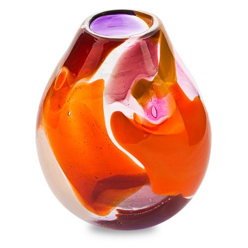 Naia Miniature Dimi Vase Malta,Glass Naia Malta, Glass Naia, Mdina Glass